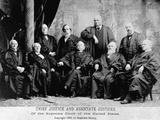 Portrait of the 1890 Supreme Court Photographic Print by Napoleon Sarony