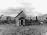 Abandoned Church Fotografie-Druck von Dorothea Lange
