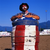 Rodeo Clown Photographic Print by Paul Souders