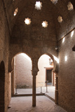 Spain, Andalusia, Granada, Alhambra Palace, Arched Entrance Photographic Print by Samuel Magal