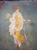 Italy, Naples, Naples Museum, from Stabia, Villa of Varanus or Ariadne, Flora (Khloris) Photographic Print by Samuel Magal