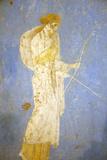 Italy, Naples, Naples Museum, from Stabia, Villa of Varanus or Ariadne (Bedroom), Diana (Artemis) Reproduction photographique par Samuel Magal