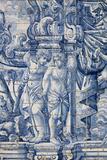 Portugal, Porto, The Church of Saint IIdefonso, Ceramic Tiles (Azulejo) Stampa fotografica di Samuel Magal