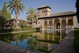 Spain, Granada, Alhambra, the Partal Fotografie-Druck
