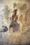 Italy, Naples, Naples Museum, from Pompeii, House of Punished Love  (VII, 2, 23), Mars and Venus Fotografie-Druck von Samuel Magal