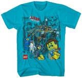 The Lego Movie - Block Blokes T-skjorte