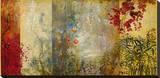 Jardin D'Quest Stretched Canvas Print by  Kemp