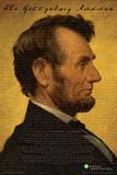 Smithsonian- Lincoln Plakater
