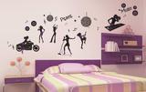 Night Life Wall Decal Sticker Adesivo de parede