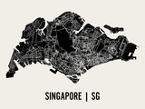 Singapur Poster von  Mr City Printing