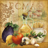 Italian Kitchen I Poster by Conrad Knutsen