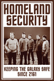 Star Trek- Homeland Security Posters