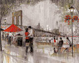 New York Romance Art by Ruane Manning