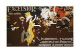 Excelsior Poster Giclée-Druck von Jules-Alexandre Grün