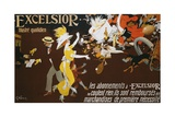 Excelsior Poster Giclee Print by Jules-Alexandre Grün