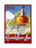 Ricardo Llacer E Hijos Reproduction procédé giclée