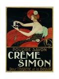Creme Simon Poster Giclee Print