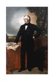 President Millard Fillmore, Aged 57 Reproduction procédé giclée par George Peter Alexander Healy