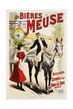 Bieres De La Meuse Poster Giclee Print