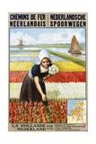 Chemins De Fer Neerlandais Travel Poster Giclee Print