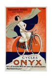 Onyx Cycles Giclee Print by  Fritayre