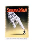 Someone Talked! Poster Giclee Print by Henry Koerner