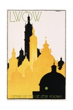 Lwow Poster Giclee Print by Stefan Norblin