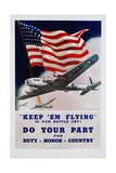 Do Your Part Poster Giclee Print by Dan V. Smith and Albro F. Downe