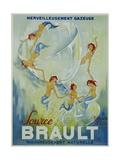 Source Brault Poster Reproduction procédé giclée par P.H. Noyer