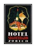 Hotel St Gotthard Zurich Poster