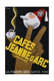 Cafes Jeanne D'Arc Poster Giclee Print by Carl Chew