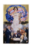 We the People Poster Giclee-trykk av Howard Chandler Christy