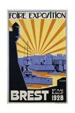 Foire Exposition Brest Poster Giclee Print by C. Lautrou