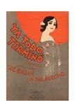 Ya Todo Termino Tango Music Sheet Cover Lámina giclée por Leopoldo Metlicovitz