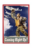 Coming Right Up! Poster Giclee Print by James Montgomery Flagg