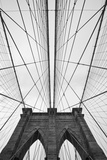 Brooklyn Bridge, New York City Premium fotoprint van Paul Souders