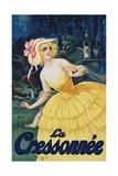 La Cressonnee Poster Impressão giclée por Marcellin Auzolle