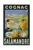 Cognac Salamandre Poster