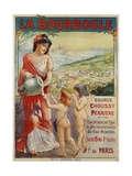La Bourboule Poster Giclée-Druck