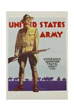 United States Army Poster Giclee Print by Tom Woodburn