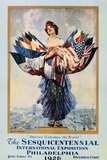 The Sesquicentennial International Exposition - Philadelphia 1926 Poster Photographic Print by Dan Smith