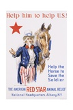 Help Him to Help U.S.! Poster Giclee Print by James Montgomery Flagg