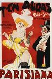 T'en Auras, Parisiana Poster Photographic Print by Jack Abeille