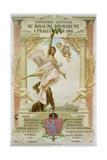 Exposition Generale Du Royaume Di Boheme a Prague En 1891 Poster Giclee Print by Vojtech Hynais