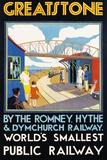 Greatstone - World's Smallest Public Railway Poster Fotografie-Druck von N. Cramer Roberts