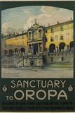 Sanctuary to Oropa Poster Photographic Print by G. Bozzalla