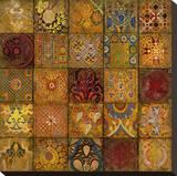Mosaic III Toile tendue sur châssis par  Douglas