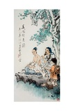 Hua Tuo Practising Acupuncture to Anaesthetise Patient Giclee Print