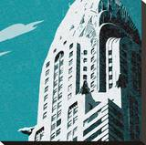 New York, New York! II Stretched Canvas Print by Malcolm Sanders