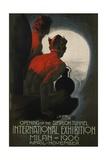 International Exhibition, Milan, 1906 Poster Giclée-Druck von Leopoldo Metlicovitz